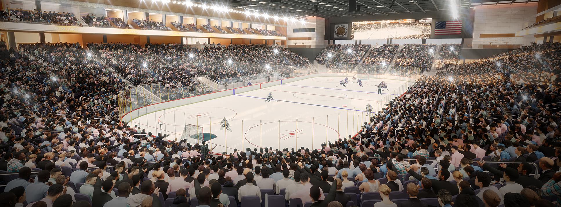 New Hockey Arena
